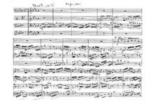 Fuga libre für Streichquartett: Vollpartitur by Vicente Martorell