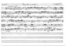 Fuga libre für Streichquartett: Violine II, Bratsche- und Cellostimmen by Vicente Martorell