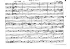 Fuga real canónica für Streichquartett: Vollpartitur by Vicente Martorell