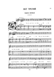 Die Krönung der Poppea, SV 308: Akt III, für Stimmen und Klavier by Claudio Monteverdi