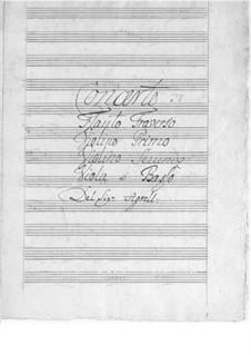 Konzert für Flöte, Streicher und Basso Continuo in G-Dur: Konzert für Flöte, Streicher und Basso Continuo in G-Dur by Johan Agrell
