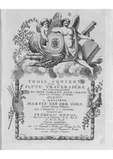 Flötenkonzerte, Op.4: Flötenkonzerte by Friedrich Wilhelm Heinrich Benda