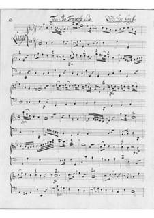 Sonate für Flöte und Basso Continuo in C-Dur: Sonate für Flöte und Basso Continuo in C-Dur by Friedrich Hartmann Graf