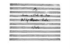 Sonate für Bratsche und Basso Continuo, BI 327: Sonate für Bratsche und Basso Continuo by Alessandro Rolla