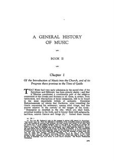 Allgemeine Geschichte der Musik: Buch II by Charles Burney