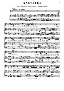 È qual chosa (Jede Schönheitverliert): È qual chosa (Jede Schönheitverliert) by Antonio Caldara