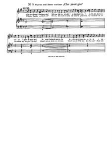 Che prodigio (Welches Wunder): Che prodigio (Welches Wunder) by Antonio Caldara
