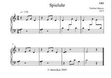 Spieluhr: Spieluhr by Norbert Sprave