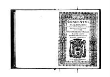 Concentus ecclesiastici: Cantus part by Franscesco Foggia