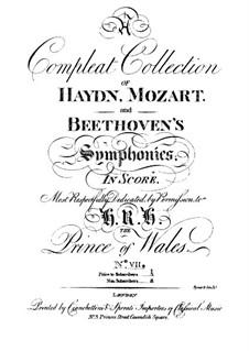 Sinfonie Nr.70 in D-Dur, Hob.I/70: Sinfonie Nr.70 in D-Dur by Joseph Haydn