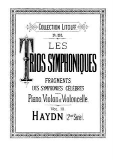 Sinfonie Nr.88 in G-Dur, Hob.I/88: Teile II, IV. Version für Klaviertrio by Joseph Haydn