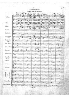 Zampa, ou La fiancée de marbre: Akt I, Nr.1 by Ferdinand Herold