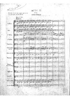 Zampa, ou La fiancée de marbre: Akt III by Ferdinand Herold