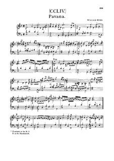 Pavane und Gaillarde: Pavane und Gaillarde by William Byrd