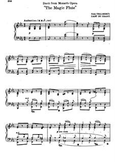 Bei Männern welche Liebe fühlen: Für Klavier by Wolfgang Amadeus Mozart