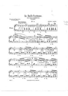 Aus des Lebens Mai, Op.292: Nr.3 Im Ballschmuck by Gustav Lange