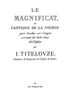 Magnificat für Orgel: Magnificat für Orgel by Jean Titelouze
