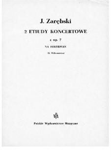 Konzert-Etüden, Op.7: Etüde Nr.2 by Juliusz Zarębski