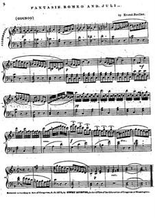Fantasie über Themen aus 'Romeo und Julia' von Gounod: Fantasie über Themen aus 'Romeo und Julia' von Gounod by Ernest Zoeller