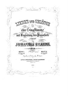 Lieder und Gesänge, Op.59: Vollsammlung by Johannes Brahms