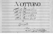 Nocturne: Für vier Flöten by Karl Ditters von Dittersdorf
