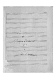 Sonate für Сello und Klavier in F-Dur, Op.5: Sonate für Сello und Klavier in F-Dur by Louis Glass