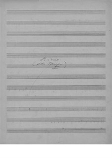 Til en hunndjevel, EG 154: Til en hunndjevel by Edvard Grieg