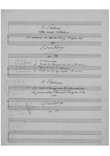 Vier Psalmen nach alten norwegischen religiösen Volksweisen, Op.74: Vier Psalmen nach alten norwegischen religiösen Volksweisen by Edvard Grieg