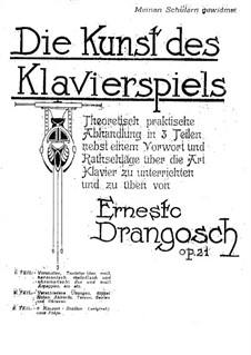 Oktaven-Studien, Op.21: Vollsammlung by Ernesto Drangosch