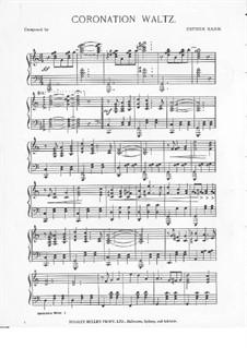 Coronation Waltz: Coronation Waltz by Esther Kahn