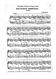 Mouvement perpétuel. Etüde für Klavier: Mouvement perpétuel. Etüde für Klavier by Andreas Nembach