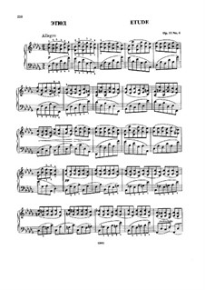 Vier Stücke, Op.11: Nr.4 Etüde by Nikolai Rimsky-Korsakov
