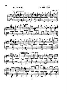 Vier Stücke, Op.11: Nr.3 Scherzino by Nikolai Rimsky-Korsakov