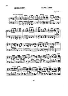 Vier Stücke, Op.11: Nr.2 Novelette by Nikolai Rimsky-Korsakov
