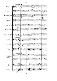 Konzert für Klavier und Orchester Nr.4 in d-Moll, Op.70: Teil II by Anton Rubinstein