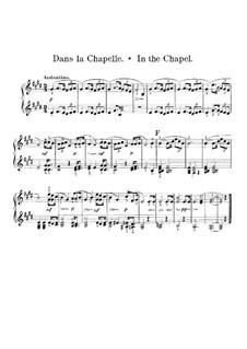 Ungarische Skizzen, Op.24: Nr.5 In der Kapelle – Klavierstimme I by Robert Volkmann