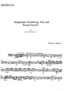 Götterdämmerung, WWV 86d: Act III, Szene II (Fragment) – Cellostimmen by Richard Wagner
