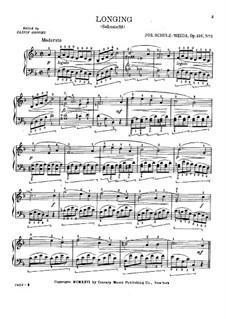 Sehnsucht, Op.216 No.2: Sehnsucht by Joseph Schulz-Weida