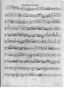 Trio für Flöte, Violine und Cello Nr.3 in D-Dur: Trio für Flöte, Violine und Cello Nr.3 in D-Dur by Franz Anton Hoffmeister