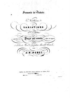 Nocturne und Variationen über Themen aus 'Nina pazza per amore' von Coppola: Nocturne und Variationen über Themen aus 'Nina pazza per amore' von Coppola by Johann Peter Pixis