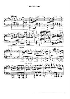 Kode zu Polonäse Nr.2 von Liszt: Kode zu Polonäse Nr.2 von Liszt by Ferruccio Busoni
