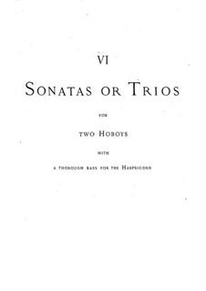 Trio-Sonaten: Trio-Sonaten by Georg Friedrich Händel