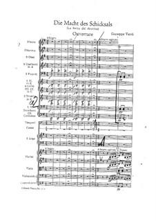 Die Macht des Schicksals: Ouvertüre by Giuseppe Verdi