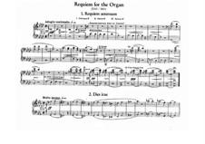 Requiem für Orgel, S.266: Requiem für Orgel by Franz Liszt