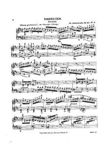 Festklänge für die Jugend, Op.45: Nr.6 Tanzreigen by Philipp Scharwenka