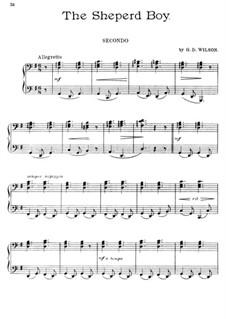 The Shepherd Boy, Op.14: Für Klavier, vierhändig by Grenville Dean Wilson