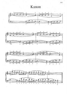 Kanon für Klavier: Kanon für Klavier by Hugo Wolf