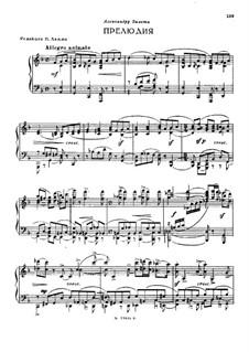 Präludium in F-Dur: Präludium in F-Dur by Sergei Taneyev