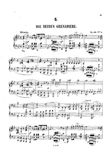Romanzen und Balladen, Op.49: Nr.1, 3 by Robert Schumann
