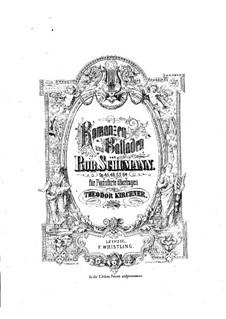 Romanzen und Balladen, Op.45: Bearbeitung für Klavier by Robert Schumann
